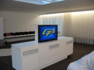 elektrische tv möbel
