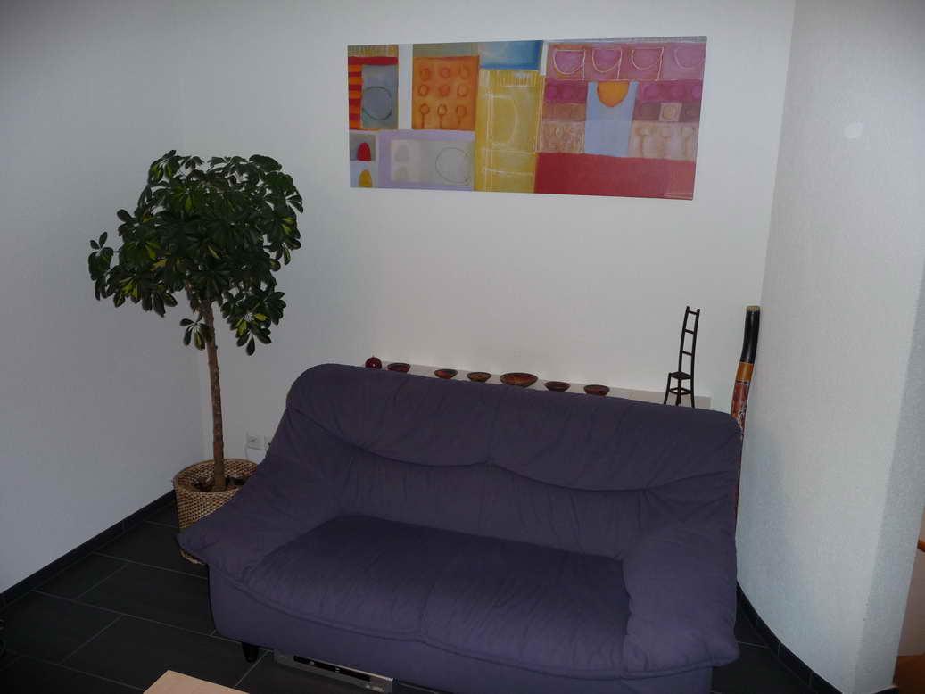 Flachbildschirm im Möbel