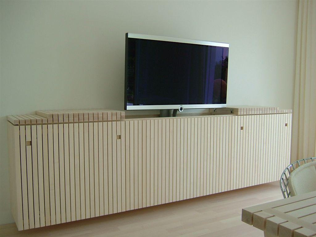 Flachbildschirm Mobel Fur Plasma Tv Versenkbar Flachbild Tv