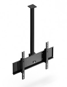 Flatlift TV Flachbildschirm Deckenhalterung 360 grad schwenkbar