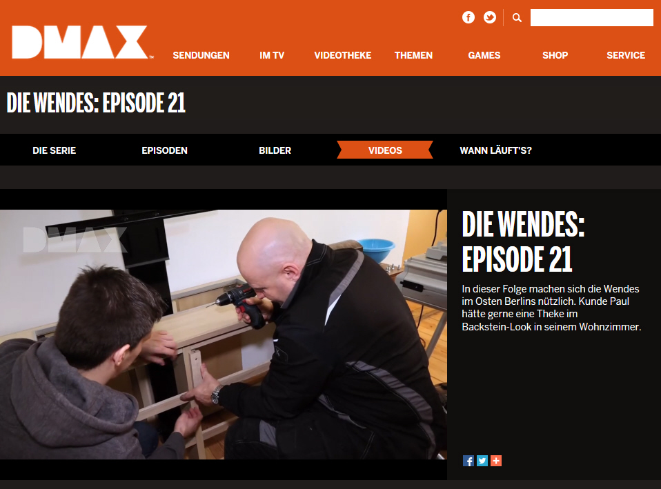 DMAX Flatlift Die Wendes preview