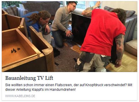 Flatlift bei Kabel 1 Abenteuer Leben Inge und Harry